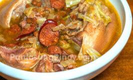 Pamplina Recipe (Pork and Chorizo Soup with Beans)