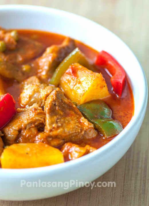 easy pork afritada recipe