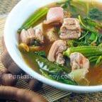 Sinigang na Liempo sa Sampaloc with Gabi