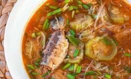 Sardines with Misua Recipe