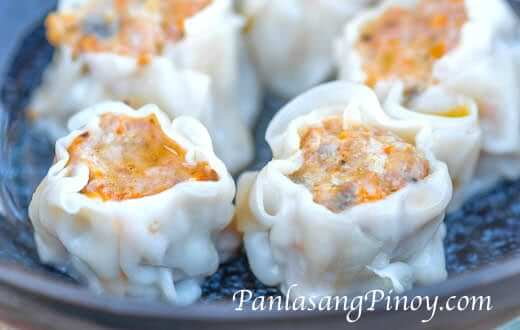 Crab and Pork Shumai Siomai Recipe