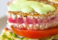 Ahi Tuna Sandwich with Wasabi Mayo