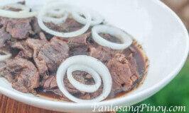Bistek Tagalog (beefsteak) Recipe