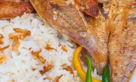 Breakfast Daing na Bisugo with Sinangag