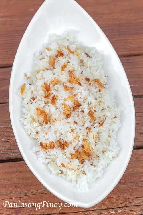 Sinangag Recipe - Filipino Fried Rice