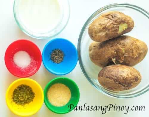 garlic mashed potato ingredients