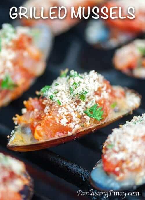Grilled Mussels Recipe - Panlasang Pinoy