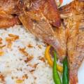 Breakfast Daing Bisugo with Sinangag