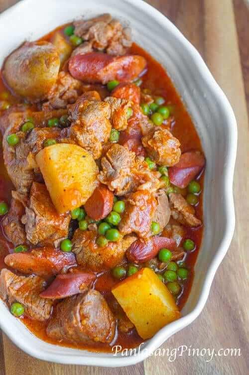 Tasty Pork Afritada Recipe