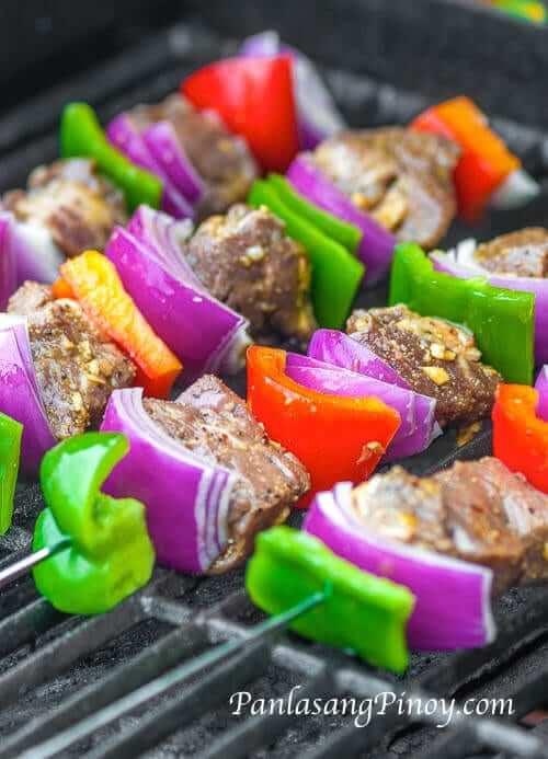 Beef Kebab Recipe - Panlasang Pinoy