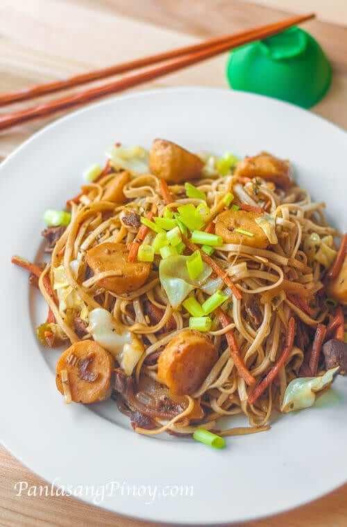 pancit udon recipe