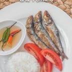 Tuyo Fish with Rice and Tomato