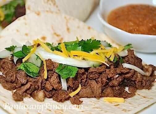 beef tacos carne asada recipe panlasang pinoy
