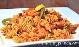 Vegetable Stir-fry Pasta Recipe