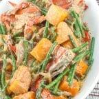 Ginataang Sitaw at Kalabasa with Crabs Recipe