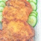 Lightly Breaded Fried Pork Chop
