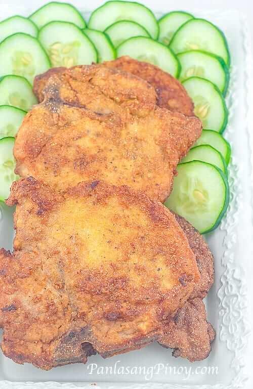 Lightly-Breaded-Fried-Pork-Chop