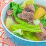 Nilagang Baka Recipe (Tender Boiled Beef Soup)