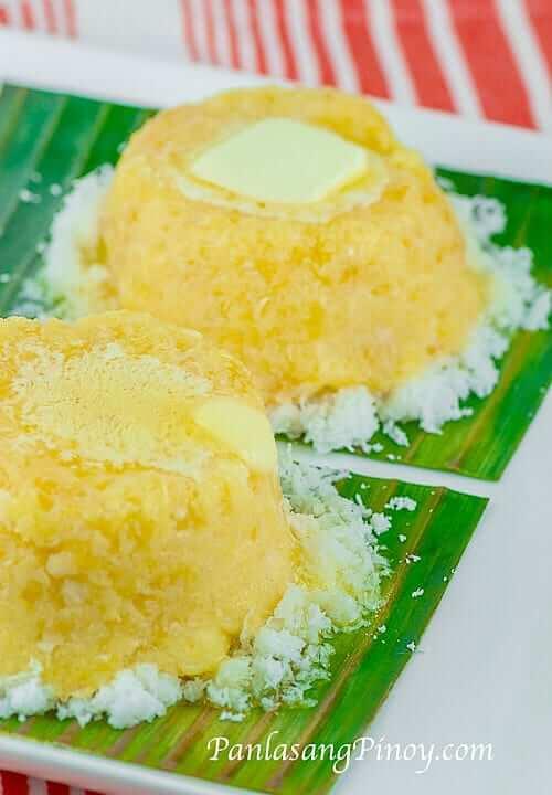 Panlasang Pinoy Steamed Banana Cake