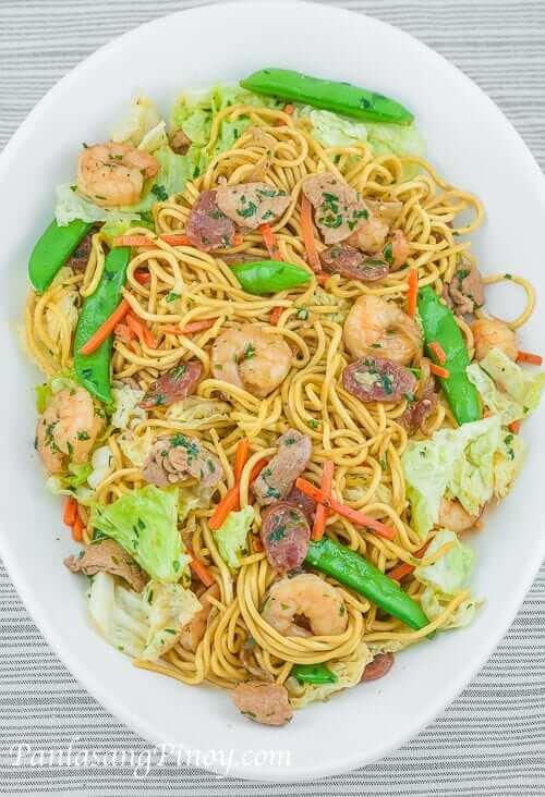 Shrimp Lo Mein 30 Ways to Make Pancit...