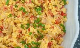 Pinoy Scrambled Eggs