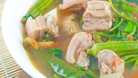 Sinigang Na Liempo Sa Sampaloc Pork Sinigang Panlasang Pinoy