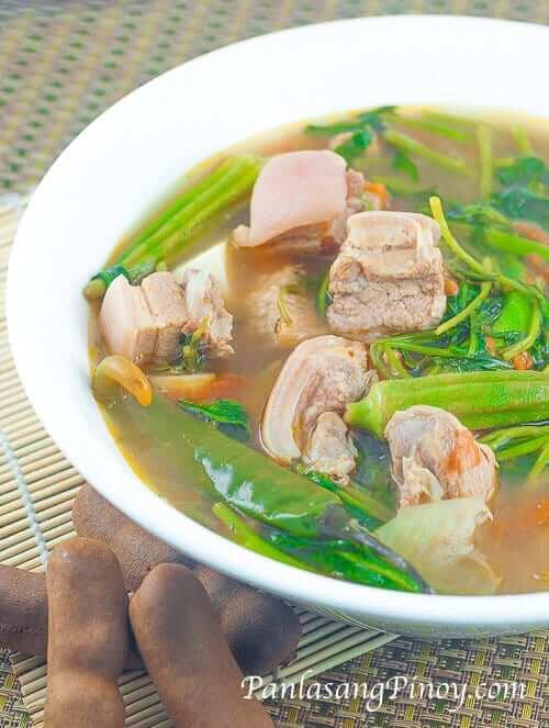 Pork Sinigang na Liempo