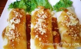 Lumpiang Sariwa (Fresh Spring Rolls Recipe)