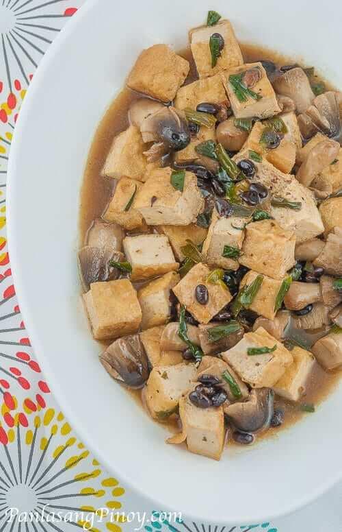 tofu-with-mushrooms