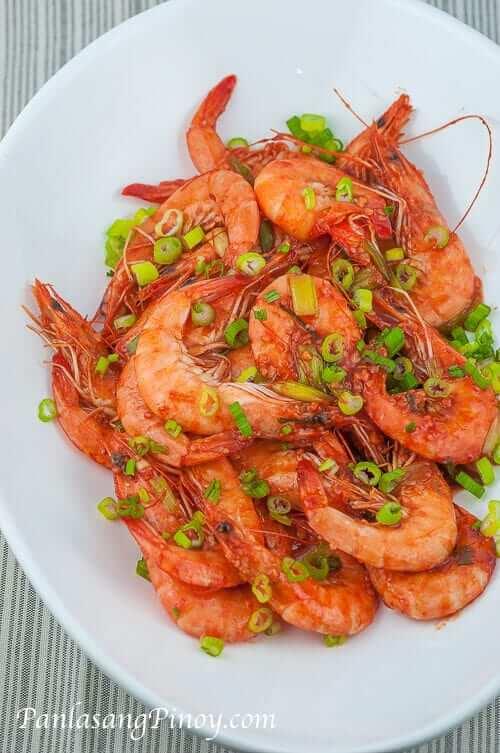 Chili Garlic Shrimp Stir Fry