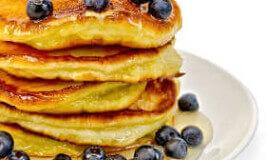 Yummy Blueberry Pancake Recipe