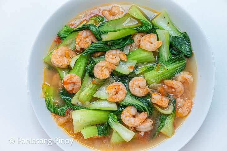 sauteeed bok choy recipe