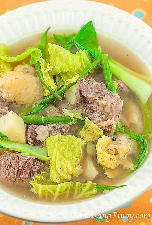 Slow Cook Beef Nilaga Recipe