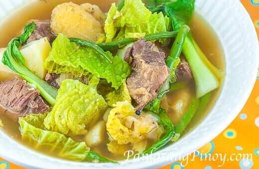 Slow Cook Beef Nilaga