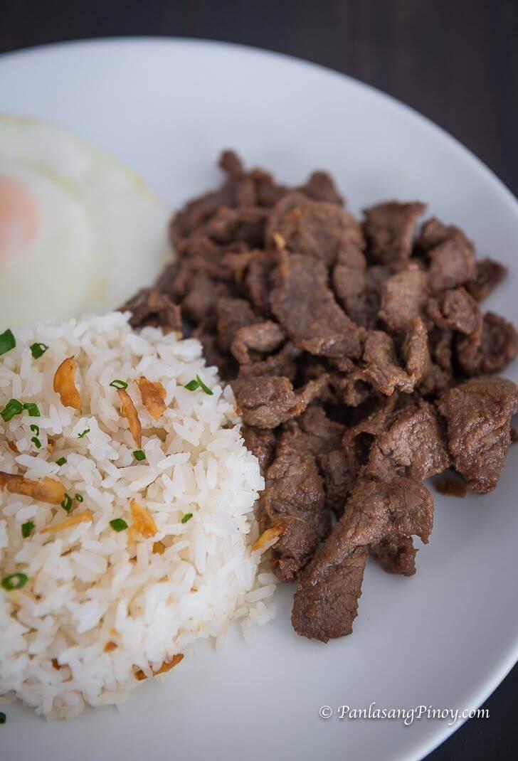 Beef Tapsilog
