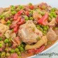 Chicken Guisantes-2
