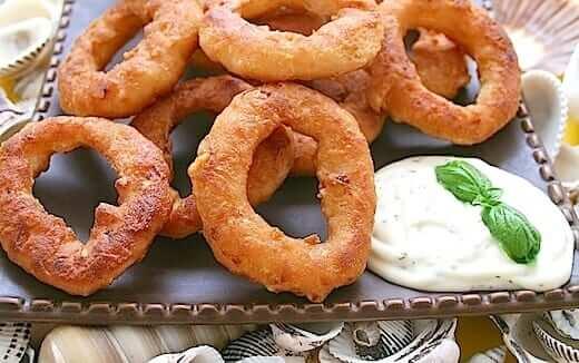 Simple Easy Onion Rings