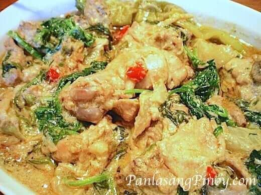 Ginataang Manok - Chicken in Coconut Milk