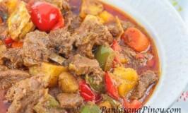 Easy Kalderetang Kambing (Goat Stew)