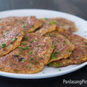 tortang corned beef omelet