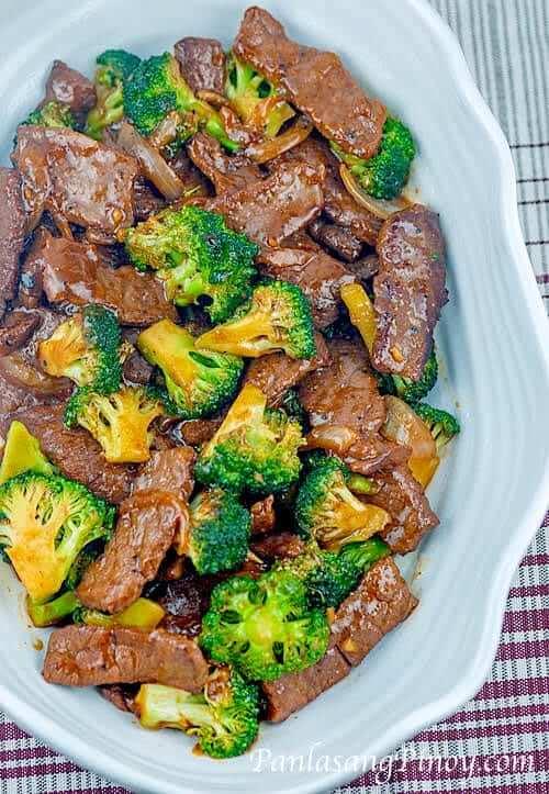 Beef and Broccoli Stir Fry - Panlasang Pinoy