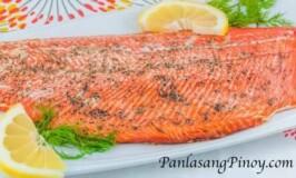 Basic Cedar Plank Salmon Recipe