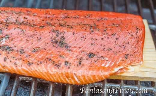 Cedar Plank Salmon_