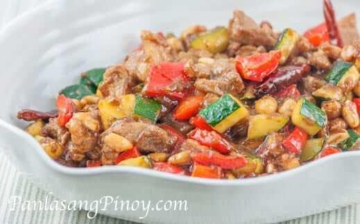 Kung Pao Pork Recipe