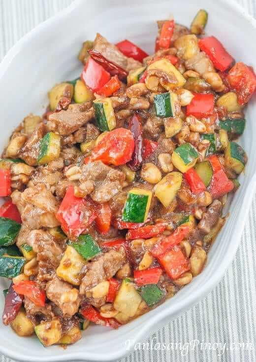 Kung Pao Pork Recipe Panlasang Pinoy
