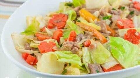 pork chop suey recipe panlasang pinoy Pork Chop Suey Recipe