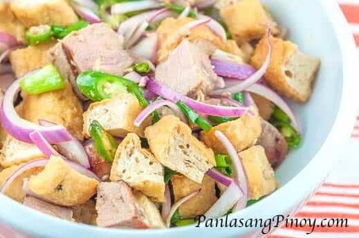 Tokwa and Tuna Recipe