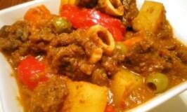 Kalderetang Kambing (Goat Stew Recipe)