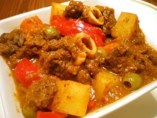 Kalderetang Kambing Goat Stew Recipe