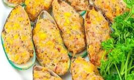 Relyenong Tahong (Stuffed Mussels)